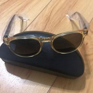John Varvatos tortoise colored sunglasses